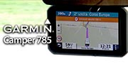 Video Accessori: Garmin 785, navigatore per camper con dash cam integrata