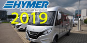 Hymer, Eriba e Hymercar 2019