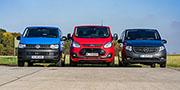 Compact Van Challenge: Ford, Mercedes, Volkswagen