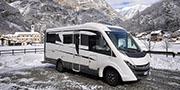 Valle d'Aosta: in camper tra neve, sci e natura
