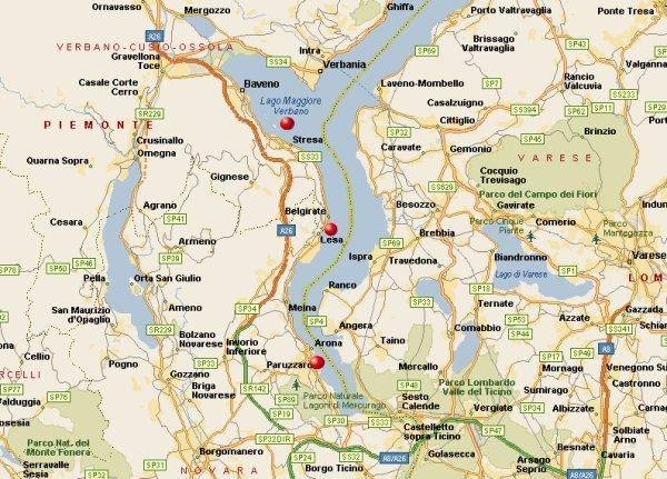 Cartina Lago Maggiore Stradale.In Camper Al Lago Maggiore Camping Eden Dormelletto