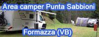 Area camping Punta Sabbioni