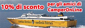 Corsica Sardinia Ferries sconto