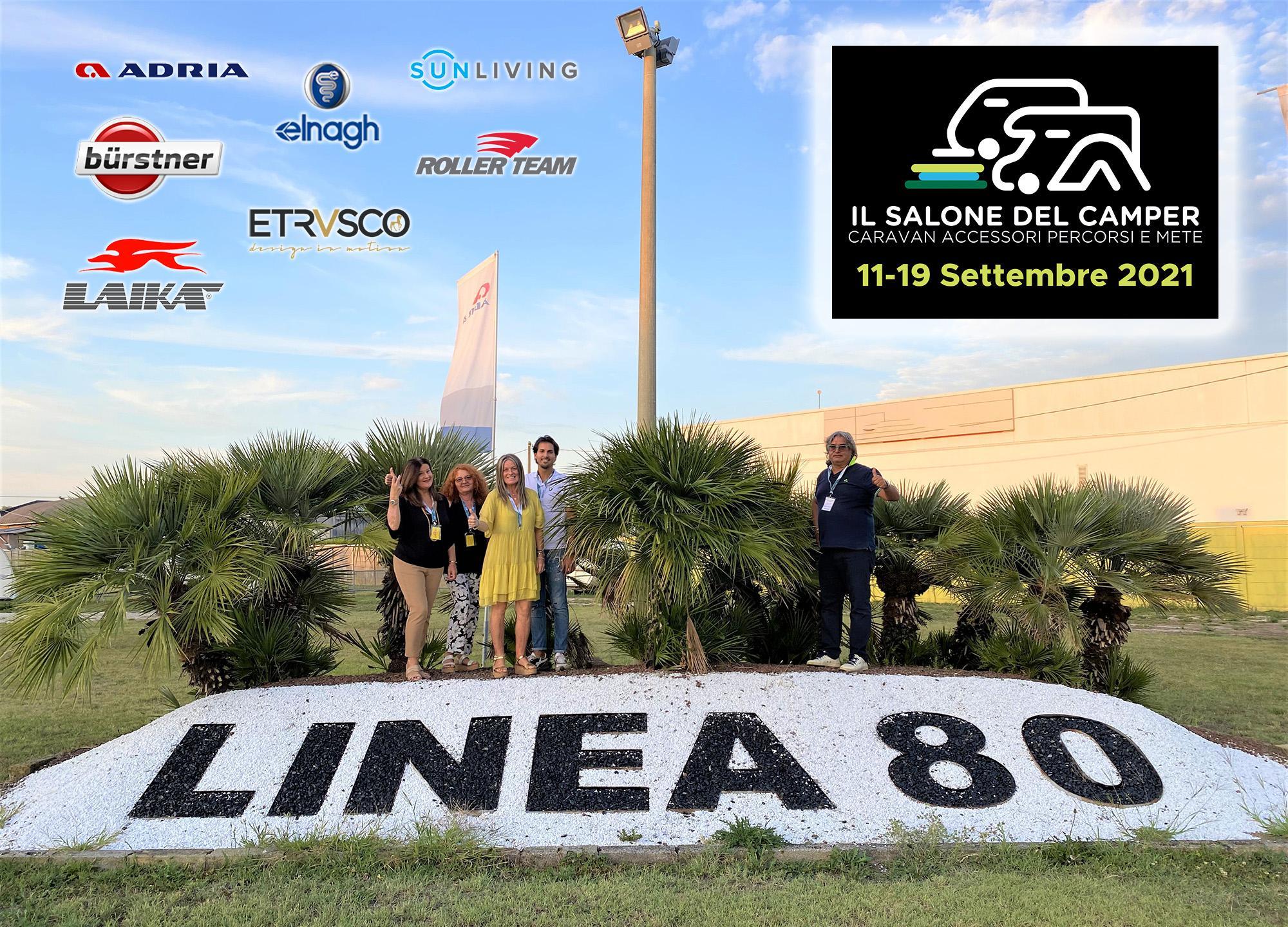 Linea 80 vi aspetta al Salone del Camper di Parma