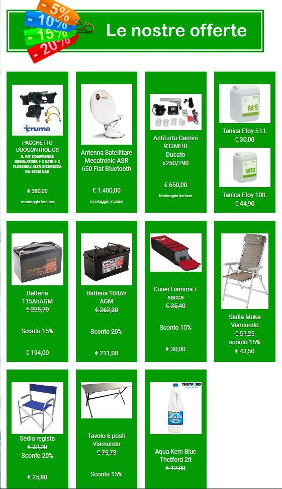 Occasioni Market accessori