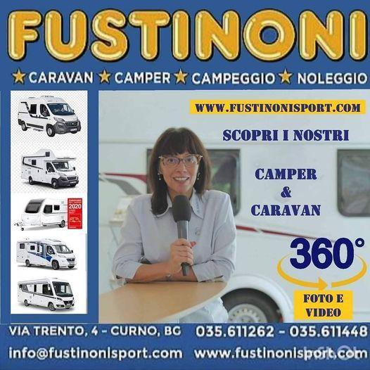 FUSTINONI Caravan e Camper  Visitaci a  360 ° e in 3D dal tuo divano!