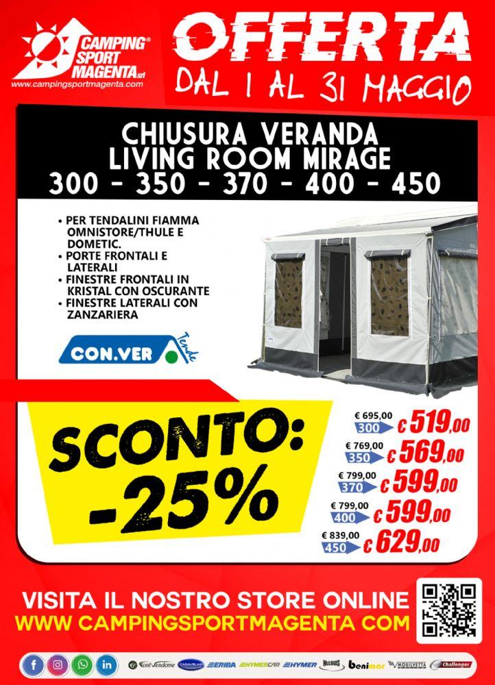 Chiusura Veranda a prezzi di SALDO!