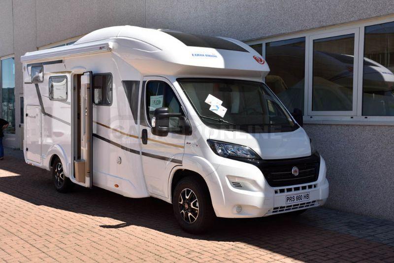 eura mobil profila rs 660 hb listino camper nuovi e veicoli ricreazionali su. Black Bedroom Furniture Sets. Home Design Ideas