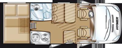 hymer van 512 premium 50 listino camper nuovi e veicoli ricreazionali su. Black Bedroom Furniture Sets. Home Design Ideas