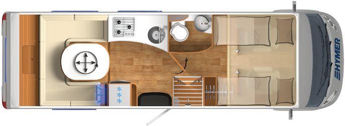 Elegant Hymer B 634 SL DuoMobil  Listino Camper Nuovi E Veicoli Ricreazionali