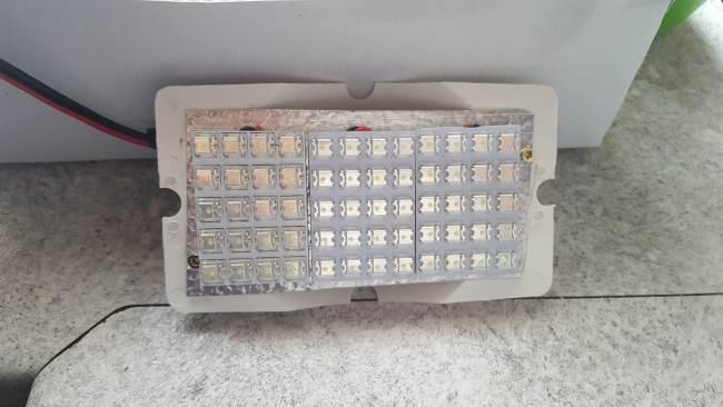 Modifica lampada esterna a led camperonline