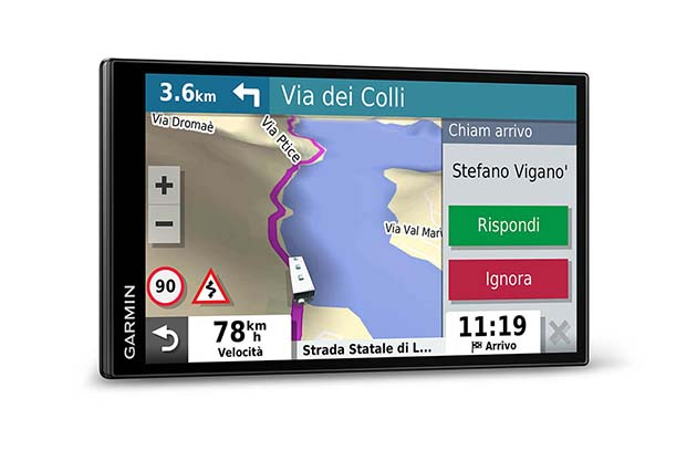 Garmin Camper 785 EU MT-D Navigatore GPS 7 Touch Screen Camera Dash Cam Integrata Navigatore vocale Chiamate Vivavoce Bluetooth
