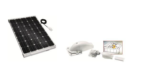 Plafoniere Con Pannello Solare : Telair ecco il nuovo pannello solare tsp w
