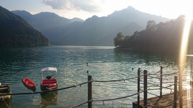 Gita al lago di ledro idee di viaggio in italia lago di for Idee di progettazione cottage lago