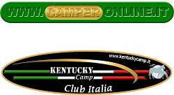 L'immagine ideata e creata dal Kentucky Club Italia che si ritrova su CamperOnLine.it