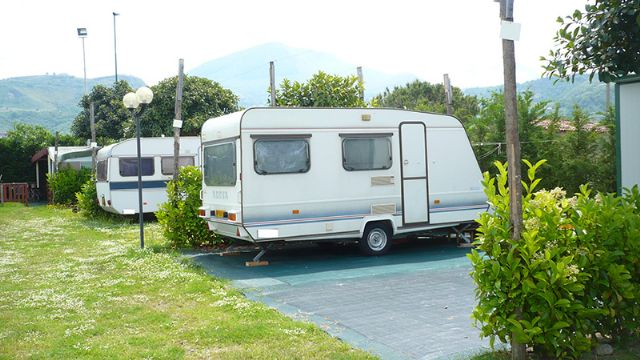 Area sosta camper Green Paradise, Piazzole, 02/01/15