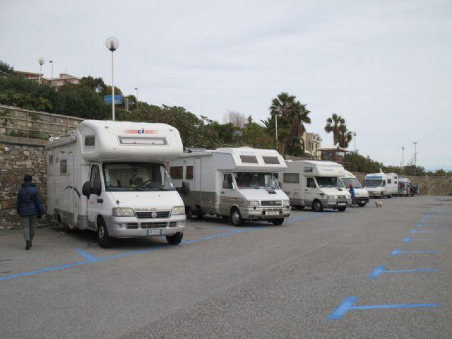 Area sosta Santo Stefano al Mare, 06/05/14