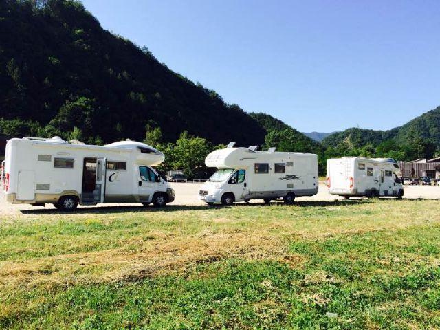 Area sosta camper a bagno di romagna bagno di romagna emilia romagna italia - Sosta camper bagno di romagna ...