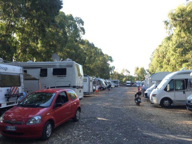Area sosta camper Area Attrezzata Camper e Sosta Auto, Ultima settimana di Luglio 2015, 14/09/16