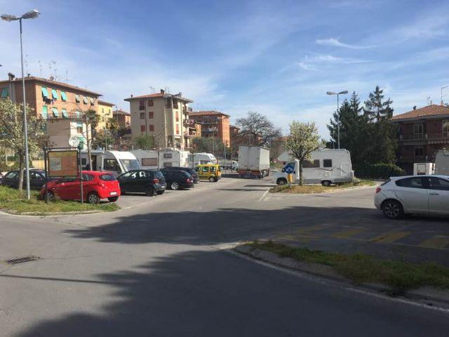 Area sosta camper a chianciano terme chianciano terme toscana italia - Sosta camper bagno di romagna ...
