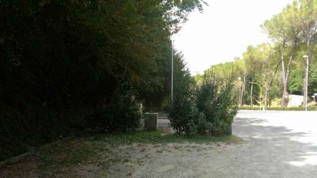 Area sosta camper Parcheggio, 21/08/16
