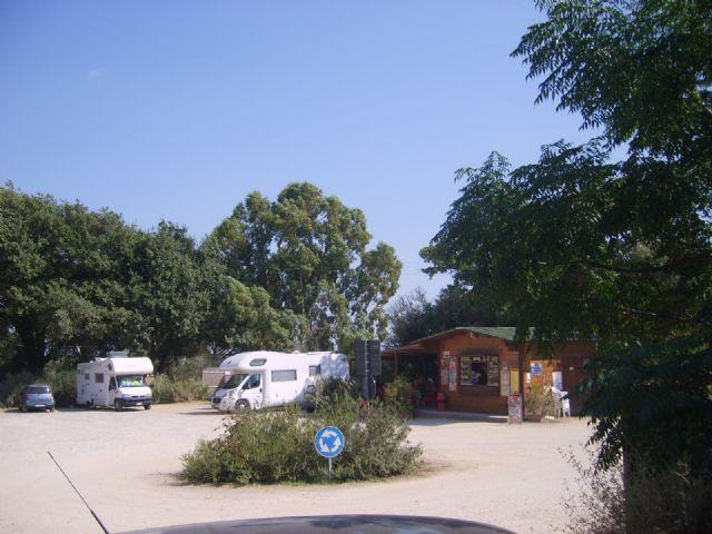 Area sosta camper a Capalbio, 01/07/15