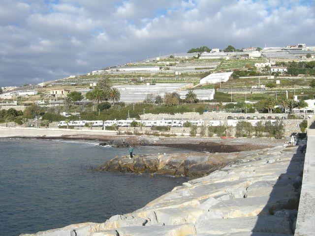 Area sosta camper a Santo Stefano al Mare, 06/05/14