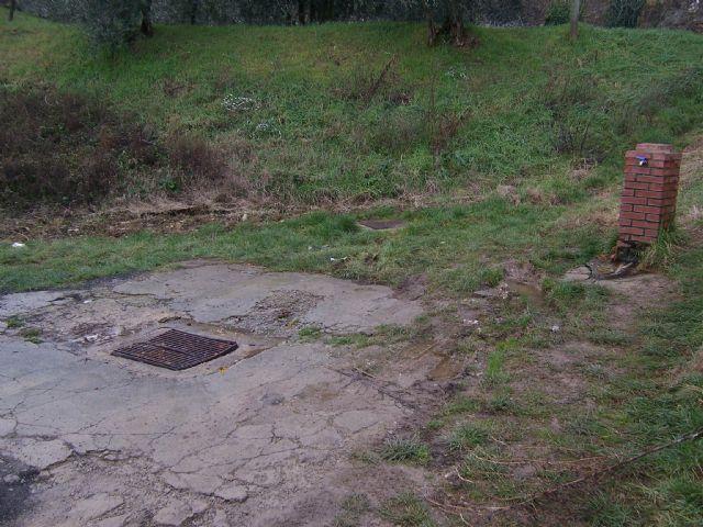 Area sosta camper a Lucignano, 20/09/16
