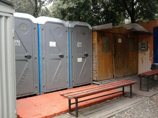 Area sosta camper Il Cavalluccio, Bagni e docce, 08/08/13