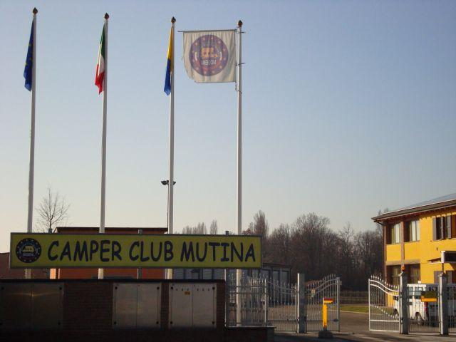 Area sosta camper Camper Club Mutina, 24/06/16