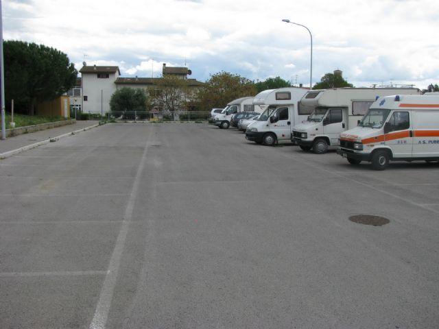 Area sosta camper a Roselle Terme, 26/04/12