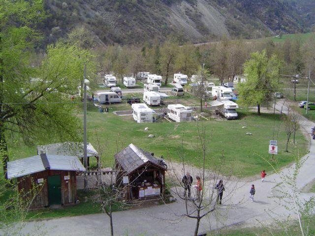 Area sosta camper Campeggio dei Forti, Vinadio, Piemonte, Italia