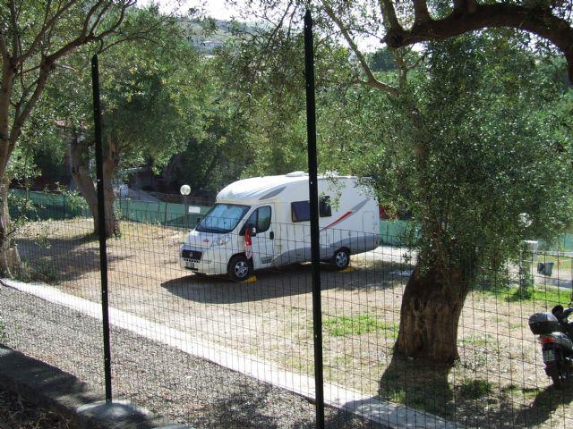 Area sosta camper Dal Colombiano, 31/08/16