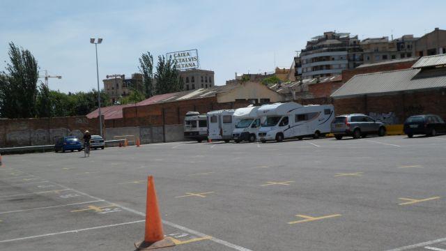 Area sosta camper Aparcamientos B: sm de Barcelona (reserva), 04/09/14