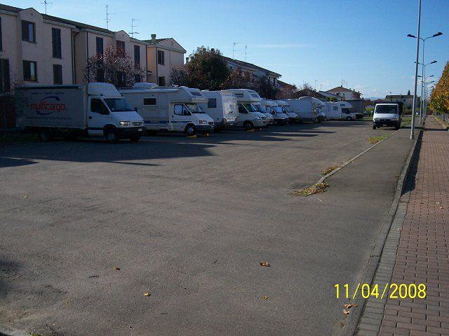 Area sosta camper a busseto busseto emilia romagna italia - Sosta camper bagno di romagna ...
