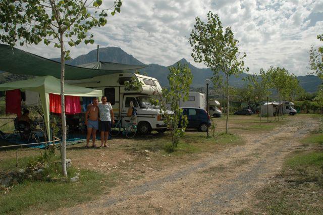 Area sosta camper a Belvedere Marittimo, 29/06/16