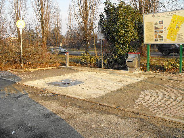 Area sosta camper parcheggio carpi emilia romagna italia - Sosta camper bagno di romagna ...