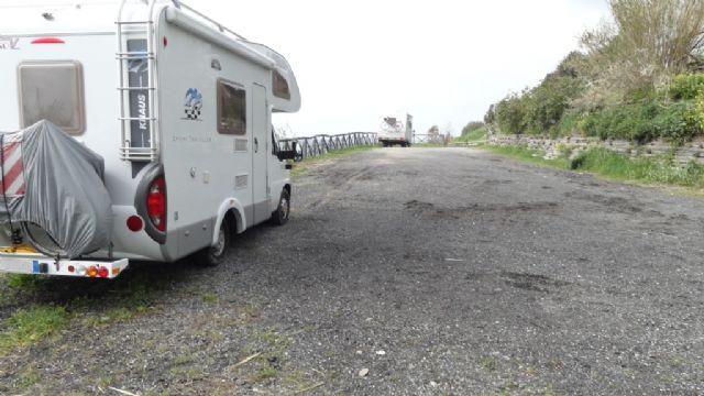Area sosta camper a San Lorenzo Al Mare, 07/06/15