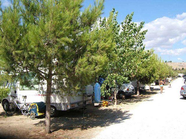 Area sosta camper Parcheggio Autopark Spiaggia d'Oro San Mauro, 02/09/16