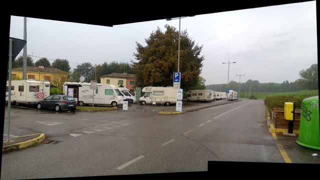 Area sosta camper area camper guastalla emilia romagna italia - Sosta camper bagno di romagna ...