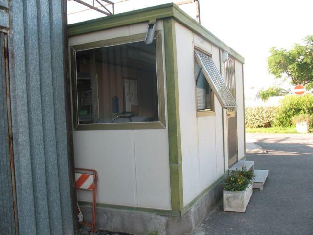 Area sosta camper Area camper L.G.P. Roma, guardiola notturna , 01/02/16