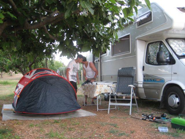 Area sosta camper Sosta Camper Fontana, 02/09/16