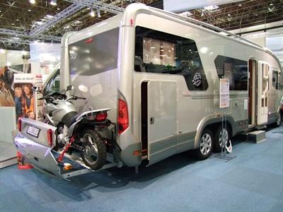 Immagini dal caravan salon di dusseldorf 29 agosto 6 for Planimetrie del garage rv
