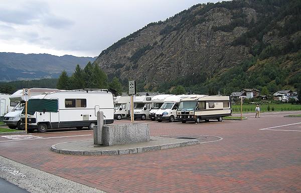 Hotel Foyer Du Fond Brusson : Aree di sosta strutture ricettive camper su camperonline