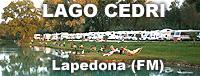 Area sosta Camper Lago Cedri - Lapedona (FM)