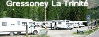 Area sosta Camper Tschaval - Gressoney La Trinite (AO)