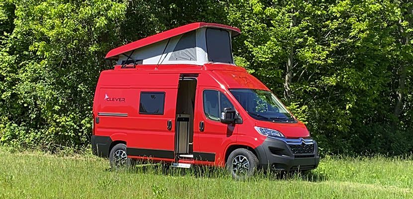 Camper in Pillole: Clever Tour 540
