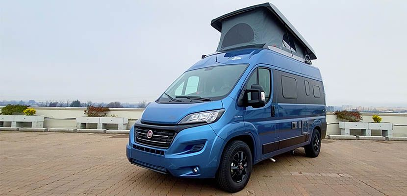 Camper in Pillole: Hymer Free 540 Blue Evolution