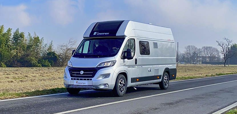 Video CamperOnTest: Dreamer Camper Van XL Limited