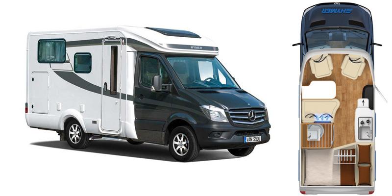 Hymer: arrivano i Van S 500 e 520 su Mercedes-Benz ...
